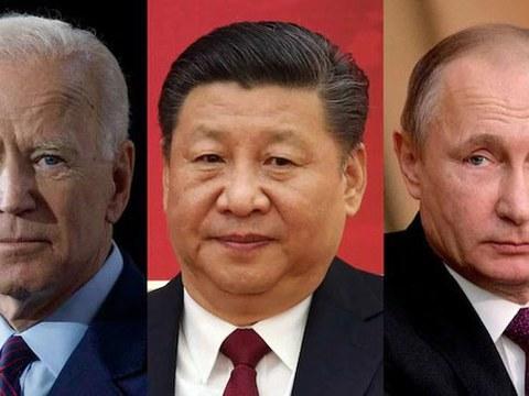 美中俄三国领导人