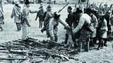 """1950年10月6日至19日的昌都战役,始于毛泽东9月8日对军队发出""""占领昌都,促使西藏代表团来京谈判""""的指示。"""