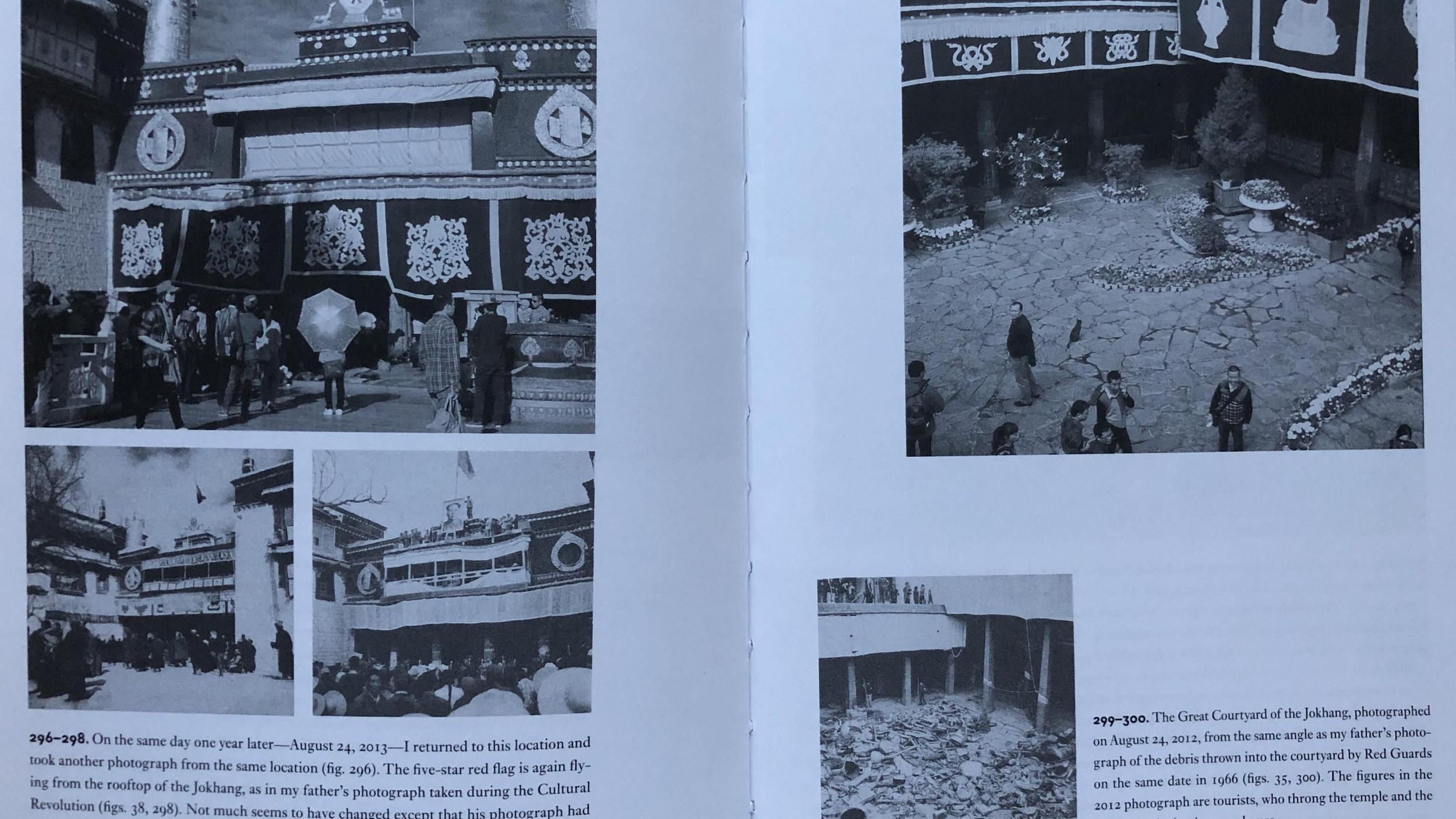 图说:《杀劫》英文版其中一页。(唯色翻拍)