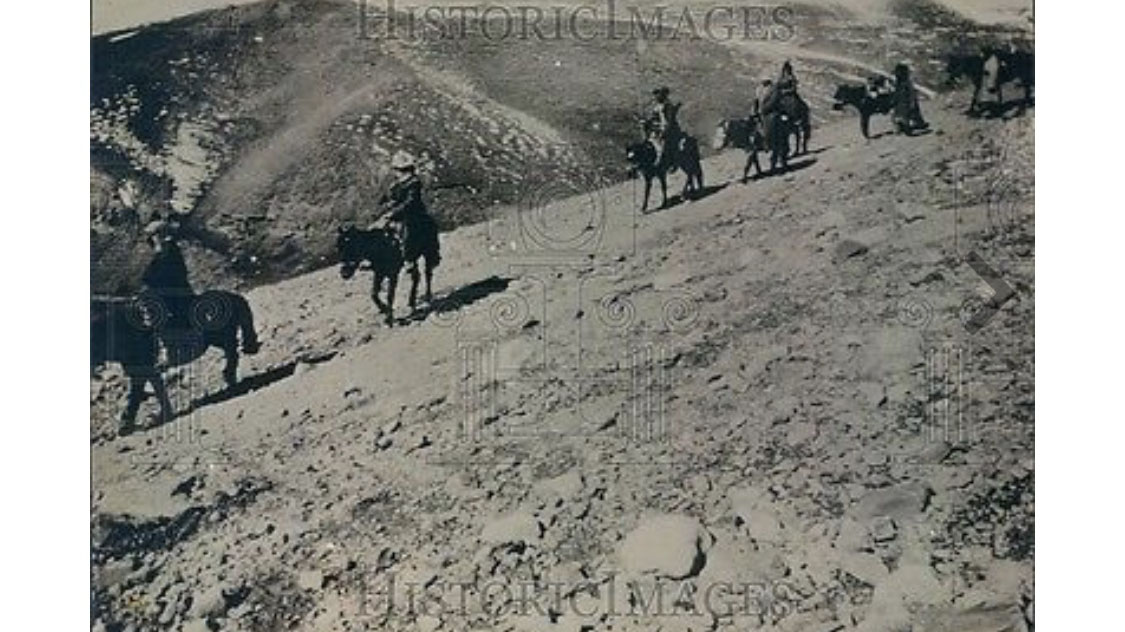 """尼古拉斯·洛里奇家族的第一次远征:""""亚洲探险""""。(唯色提供)"""