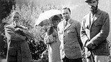尼古拉斯·洛里奇与妻子和两个儿子。(唯色提供)