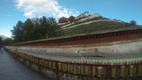 图说:环绕布达拉宫的转经道孜廓。(唯色摄影)