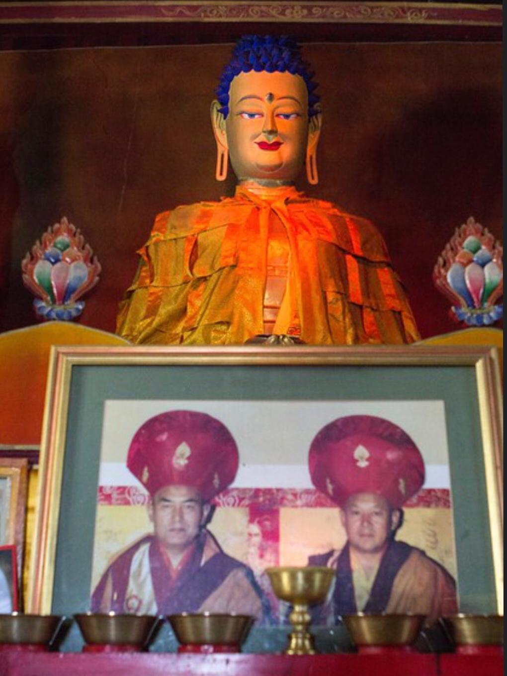 """江扎寺供奉的佛陀銅像被譽爲""""阿里之莊嚴""""在文革中倖存。(Public Domain)"""