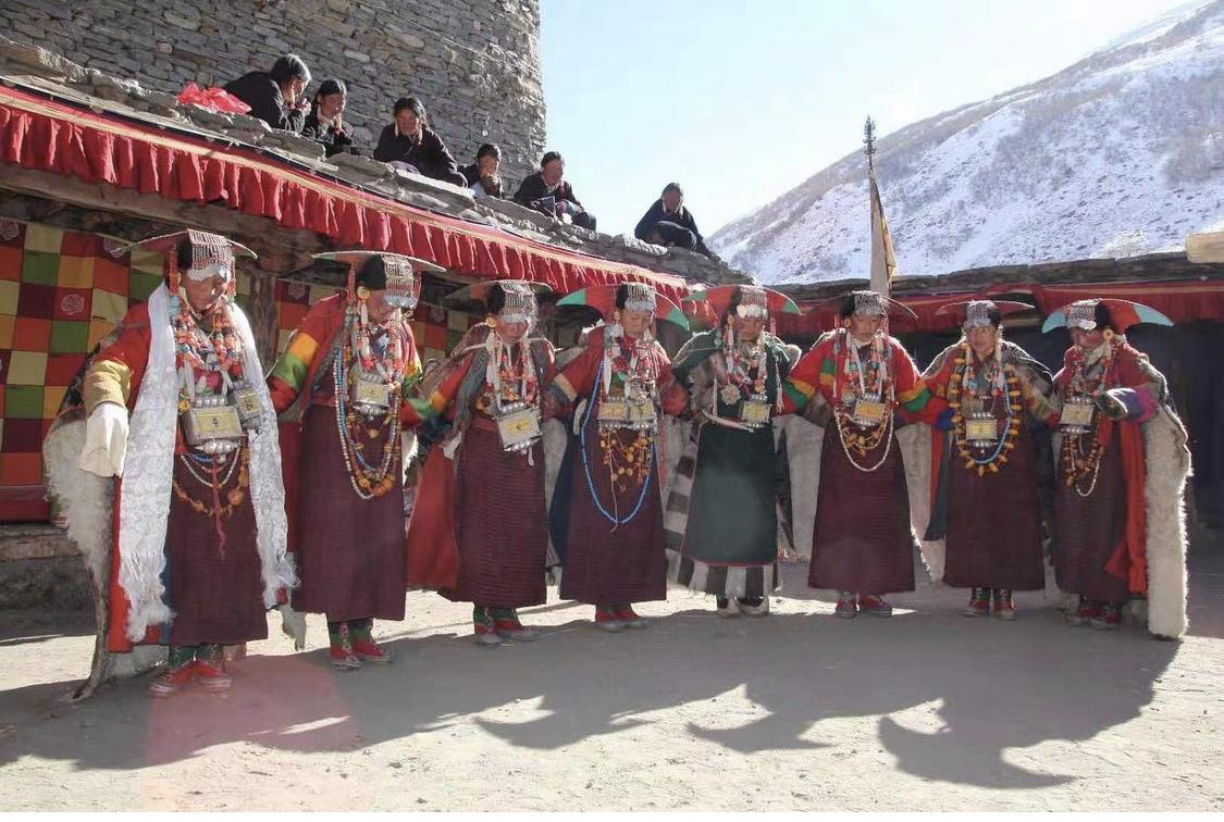 Limi藏人的宣舞延續古老傳統。(Limi藏人提供)