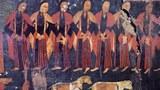 古格王宮遺址壁畫上的宣舞。