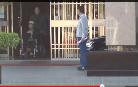 陈水扁获保外就医(RFA视频截图)