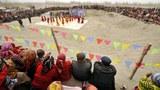 新疆疏勒的民众在庆祝传统节日。(Public Domain)