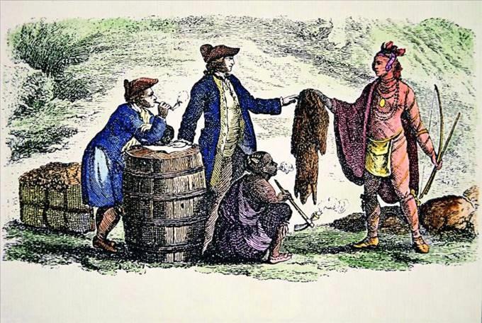 西方人把河狸皮毛视为一个人社会身份地位的象征。(Public Domain)