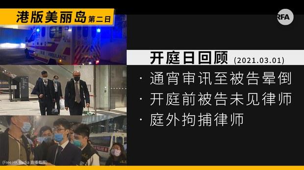 中国律师 : 香港法庭审讯过程大陆化(photo:RFA)