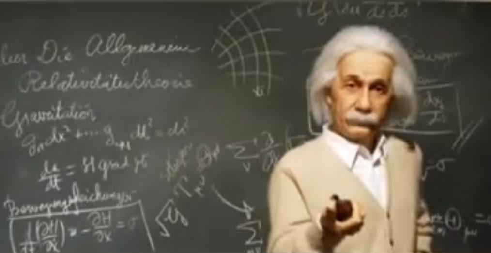 評論認爲哲學怎能用來否定物理學 。(微博視頻截圖)