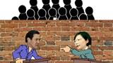 图片:中国网民翻墙围观台湾朝野领导人辩论(心语制作)