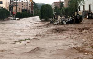 图片:吉林永吉县洪水实拍。(网络资料/丁小)
