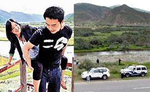 图片:薄瓜瓜、陈晓丹游西藏警车护航(网络/丁小)