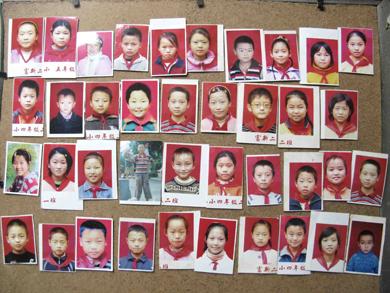 图片:富新二小部分遇难学生集体照(艾晓明博客/乔龙提供)