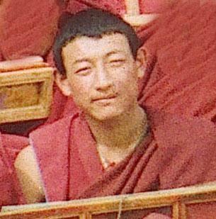 图片:近日获释的阿坝格尔登寺僧人桑堆。(达兰萨拉格尔登寺提供)