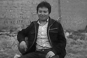 资料图片:10月4号自焚身亡的那曲比如县夏曲镇永嘎勒村藏人古珠。(受访人提供)