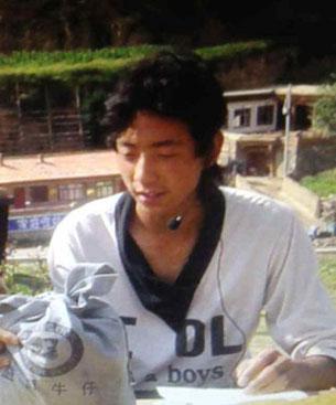 图片:11月10日自焚身亡的甘肃省甘南州合作市勒秀乡藏人贡布次仁。 (受访人提供)