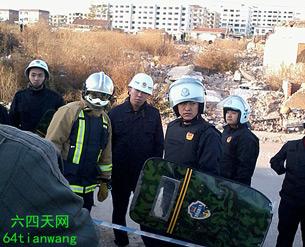 图片: 上百村民激烈反抗,双方爆发冲突。 (六四天网/记者方媛)