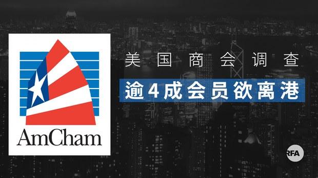 """《國安法》不影響香港營商環境?   報告顯示近半美資""""用腳投票"""""""