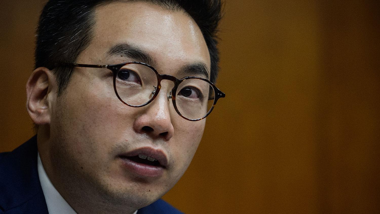 香港民主派立法会议员杨岳桥(法新社)