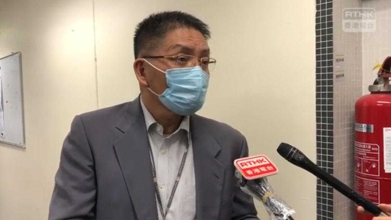 主管香港電臺的廣播處長梁家榮他形容事件罕見,關心同事被捕會否造成寒蟬效應。(視頻截圖/PTHK)
