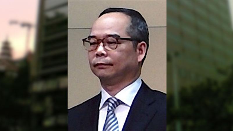 亲北京政治人物、前沙田区议员刘江华,现任香港第6任民政事务局局长。(图源:维基百科)