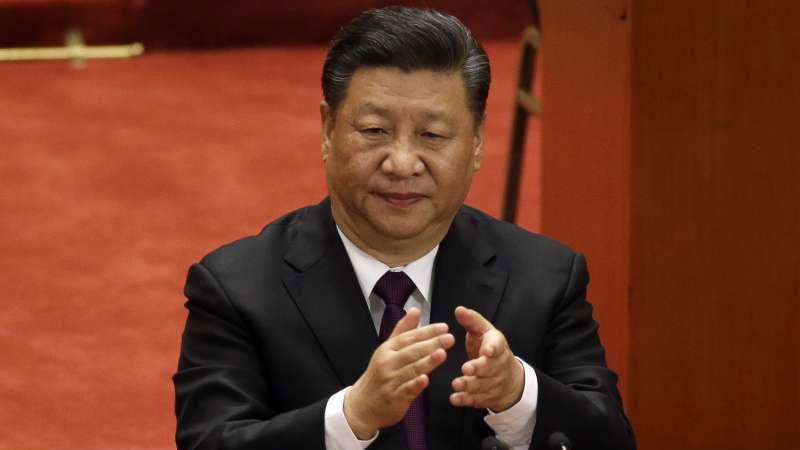 """今年元旦,习近平提出包括""""一国两制台湾方案""""在内的""""习五条"""",对台湾从政治、经济、军事和外交等各方面极限打压,其目的在于转移他在国内遭遇的经济和政治危机。(资料图/美联社)"""