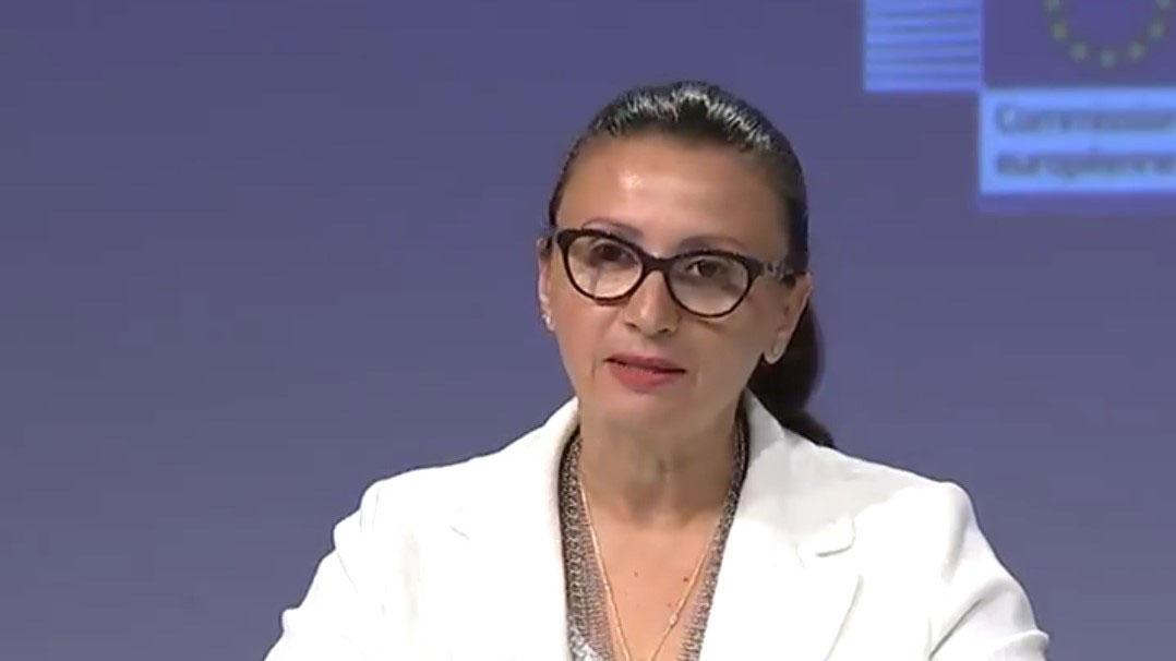 欧盟外交和安全政策发言人马斯拉里(Nabila Massrali)。(推特图片/Nabila Massrali@NabilaEUspox)