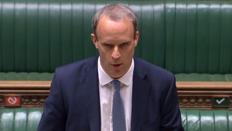 2020年7月6日,英国外相拉布( Dominic Raab )于国会应询时表示,不排除将香港特首林郑月娥列入第 2 波制裁名单。