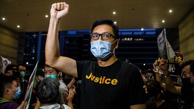 香港林卓廷批指控荒谬    港台禁采访53被捕人士
