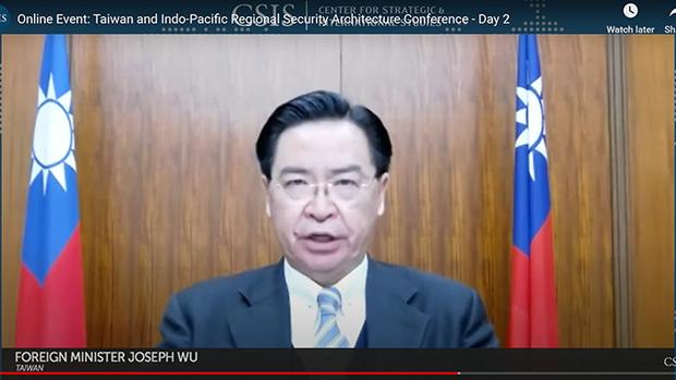 臺外長:臺灣有助於印太和平穩定