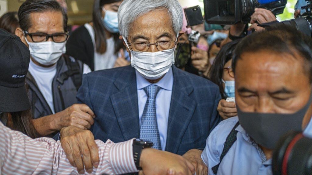 香港民主人士李柱銘。(AP)