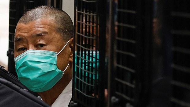 香港保安局依《港區國安法》凍結黎智英壹傳媒股份及財產