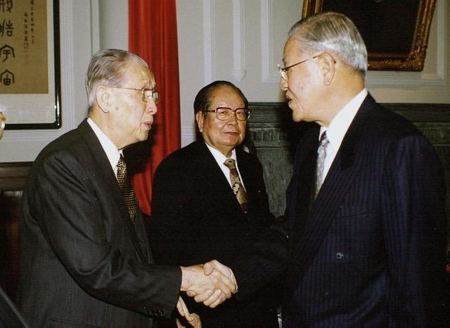 李登辉对台湾最大贡献是将台湾民主化。(法新社)