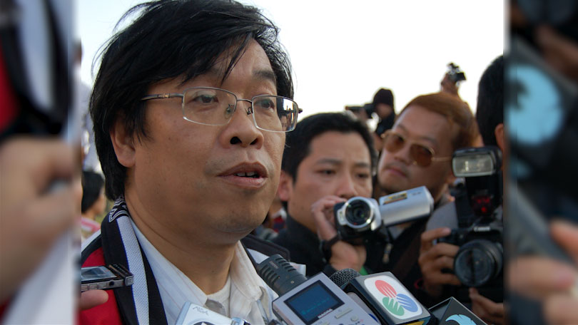 澳门民主派立法会议员吴国昌(图源:维基百科)