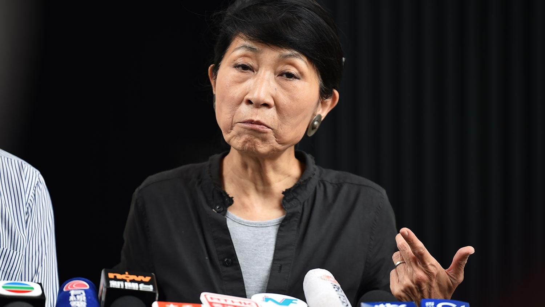 香港民主派议员毛孟静(法新社)
