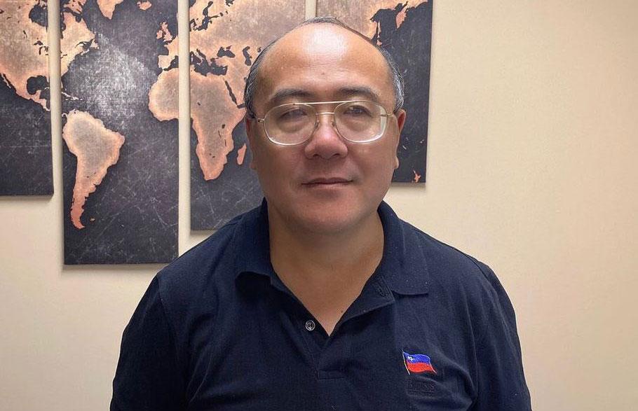 八九民運領袖鄭存柱認爲,兩名港人申請政治庇護獲批,反映美國不再認可香港保有民主法治。(鄭存柱獨家提供, 拍攝日期不詳)
