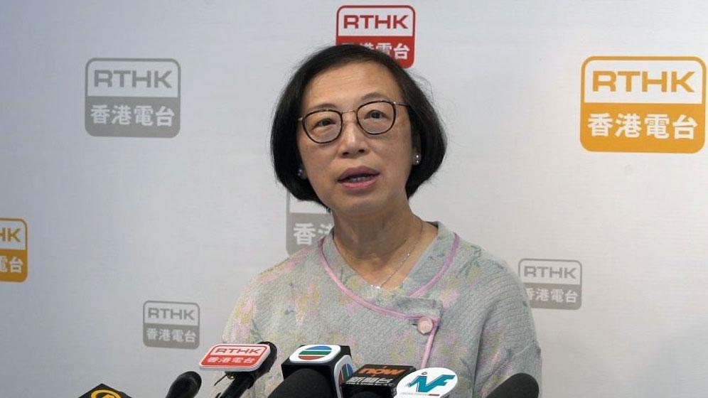 食物及卫生局局长陈肇始(视频截图/香港电台)