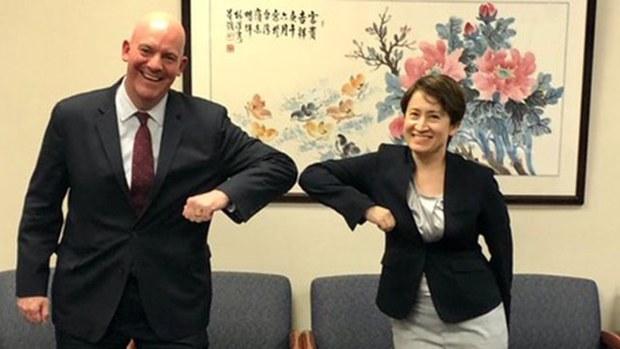 美台交流限制取消 美国务院官员立马会见台湾外交官
