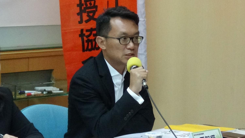 中华亚太菁英交流协会秘书长王智盛。(RFA资料照)
