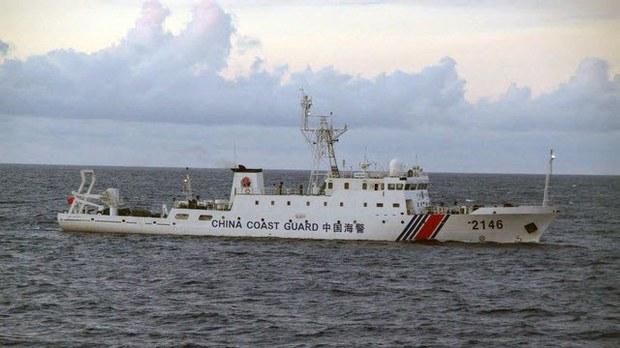 日本防衛白皮書譴責中國海警船駛入領海。