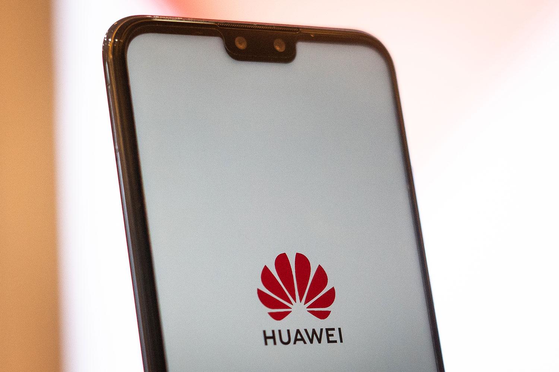 中华电信表示往后不会再进货华为的新手机。(资料图/法新社)