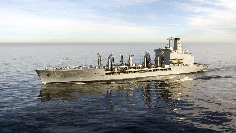 美军补给舰「狄尔号」(Walter S. Diehl)。(图源:维基百科)