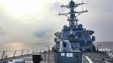 美驱逐舰通过台海 拜登政府上台后每月报到