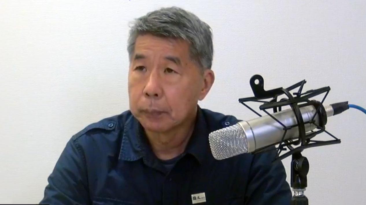 孙文学校总校长张亚中在国民党主席拿下超过3成选票。(截图自张亚中脸书)