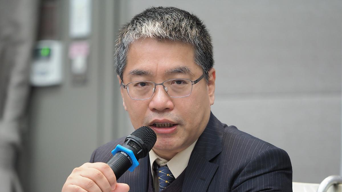 台湾远景基金会执行长赖怡忠。(RFA资料照)