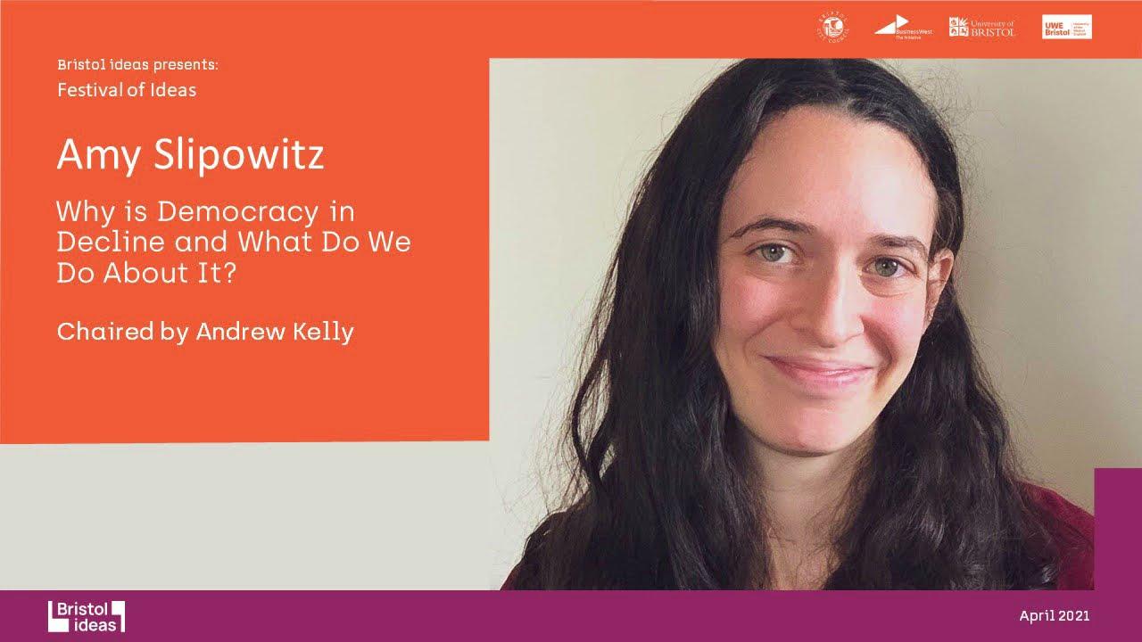 自由之家的研究部经理斯里波威兹(Research Manager Amy Slipowitz)。(视频截图)