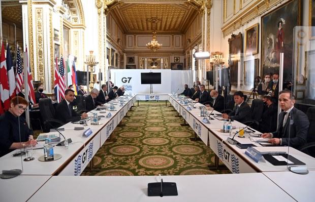 G7外长会议公报首度提及台湾 强调台海和平稳定