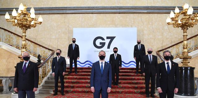 G7外长公报首次提到台湾,支持台湾加入WHO。(美联社图片)