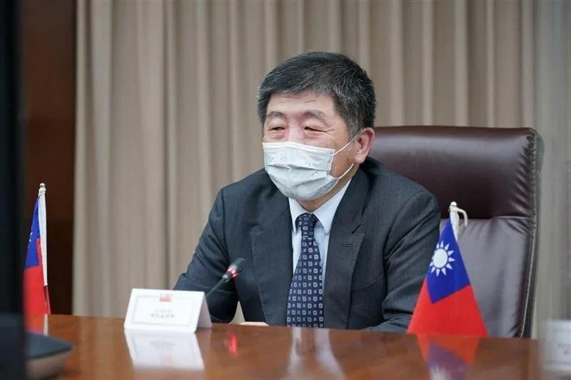 美国卫生部长与陈时中视频会议,支持台湾取得疫苗、并参与WHA。(蔡英文脸书)(photo:RFA)